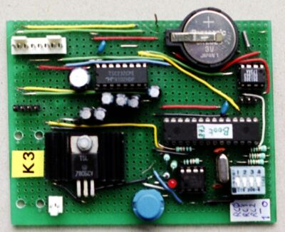 K3 testboard for 16F873