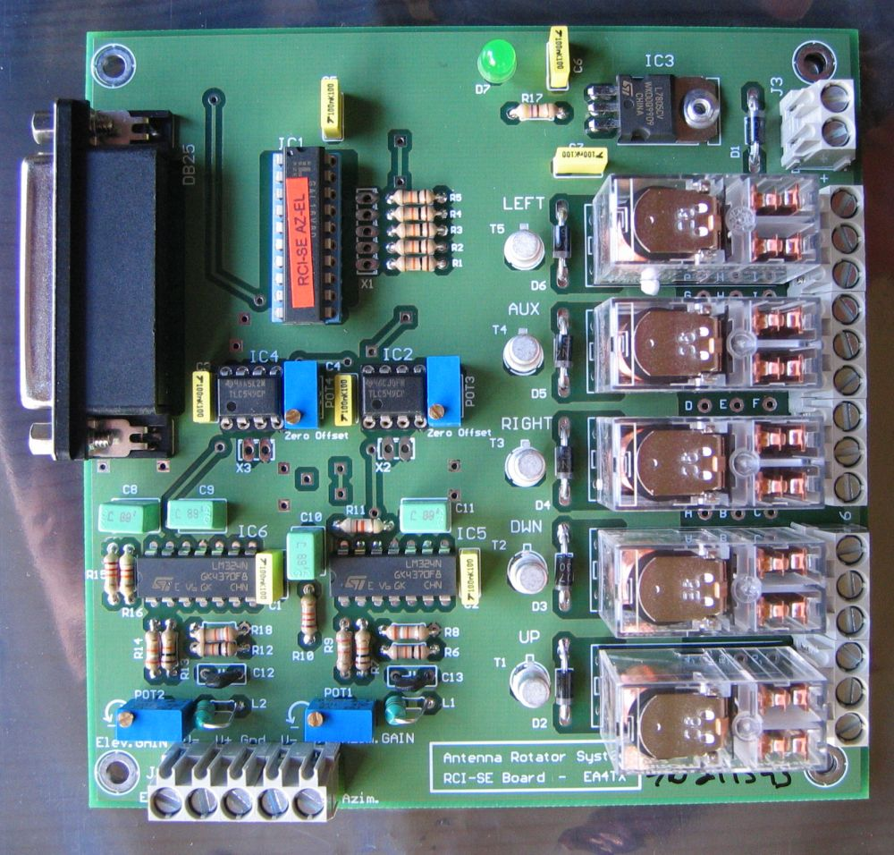 Antenna Rotor Control Box Circuit Free Download Wiring Diagram Alliance Satellite Antennas And Rotator Oz1bxm